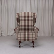 Balmoral Chair in a Balmoral Mulberry Fabric