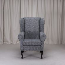Small Westoe Armchair in a Como Charcoal Fabric