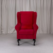 Small Westoe Armchair in a Pimlico 16022 Rouge Fabric