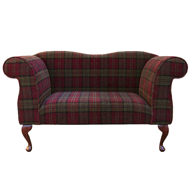 Queen Anne Style Legs ...  sc 1 st  eBay : double ended chaise - Sectionals, Sofas & Couches