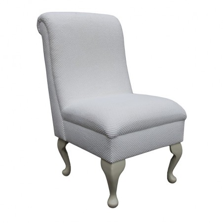 Bedroom Chair in a Chalk Dimple Fabric - 16130