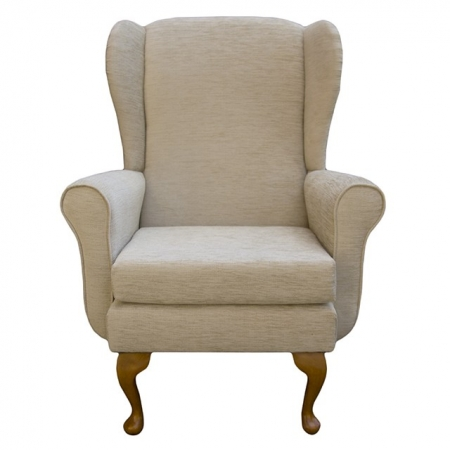 Balmoral Chair in a Woburn Beige Fabric - 17092
