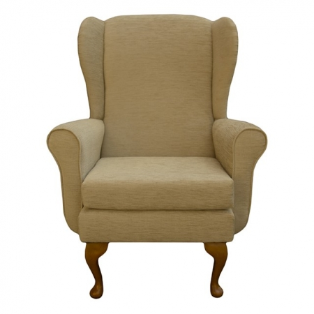 Balmoral Chair in a Woburn Gold Fabric - 17090
