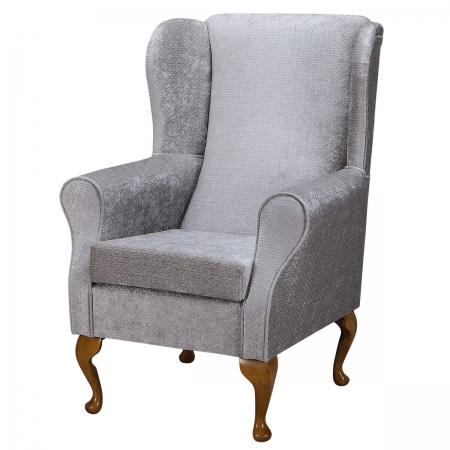 Standard Wingback Fireside Westoe Chair in an Avanti...