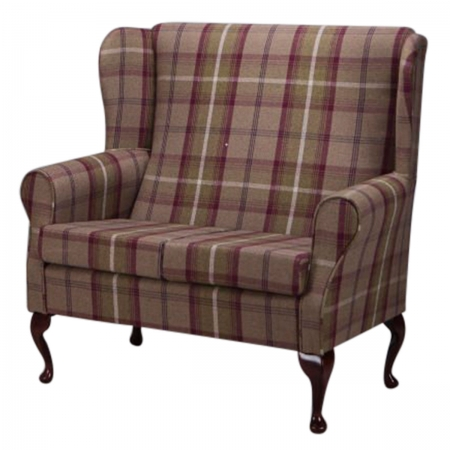 2 Seater Westoe Sofa in a Balmoral Mulberry Fabric