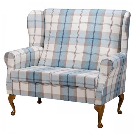 2 Seater Westoe Sofa in a Balmoral Sky Fabric