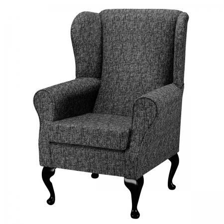 Standard Wingback Fireside Westoe Chair in a Como...