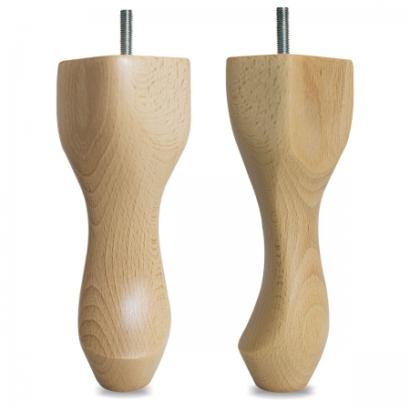 "8"" Hardwood Queen Anne Legs - Beech"