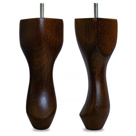 "8"" Hardwood Queen Anne Legs - Mahogany"
