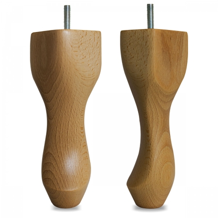 "8"" Hardwood Queen Anne Legs - Light Oak"