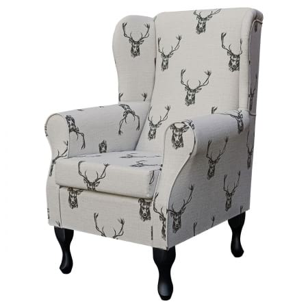 Standard Wingback Fireside Westoe Chair in a...