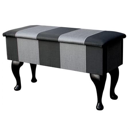 Medium Dressing Table Storage Stool in a Flatweave...