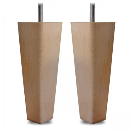 "8"" Straight Tapered Legs - Beech"