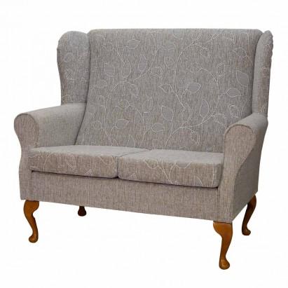 2 Seater Westoe Sofa in a Montana Oatmeal Floral Fabric