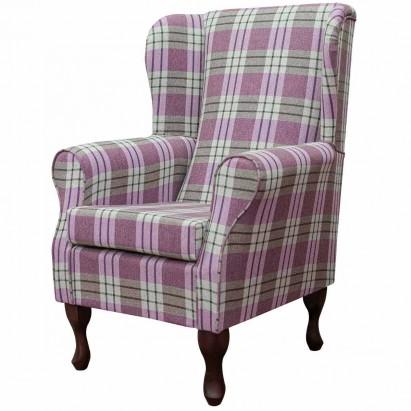 Standard Wingback Fireside Westoe Chair in a Kintyre...