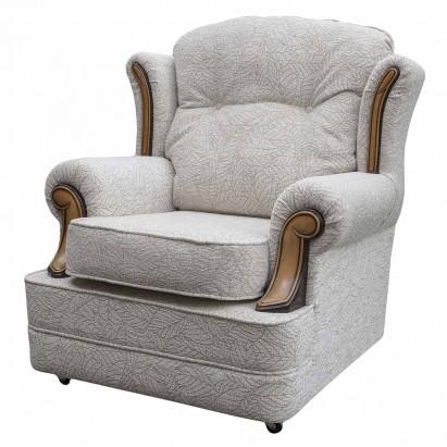 Verona Chair in a Portobello Leaf Natural Fabric...