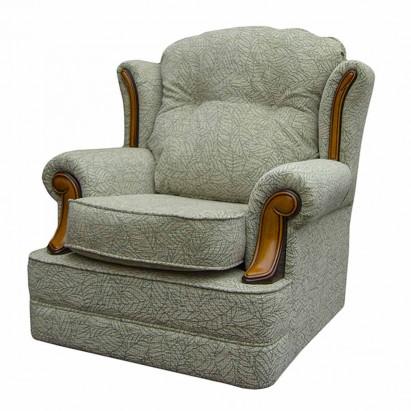 Verona Chair in a Portobello Leaf Evergreen Fabric...