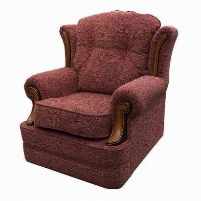 Verona Chair in a Portobello Leaf Rose Fabric With...