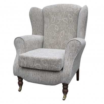 Duchess Wingback Armchair in a Montana Floral...