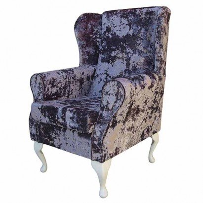 Standard Wingback Fireside Westoe Chair in a Lustro...