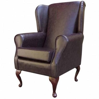 Standard Wingback Fireside Westoe Chair in a Memphis...