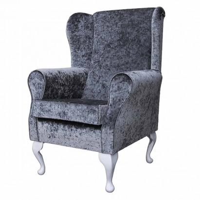 Standard Wingback Fireside Westoe Chair in a Shimmer...