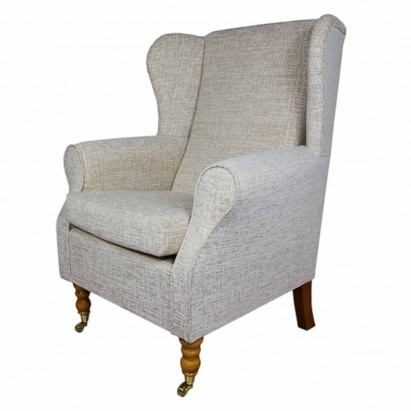 Medium Wingback Fireside Westoe Chair in a Carnaby...