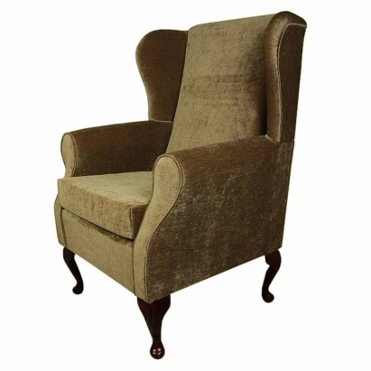 Medium Wingback Fireside Westoe Chair in a Velluto...
