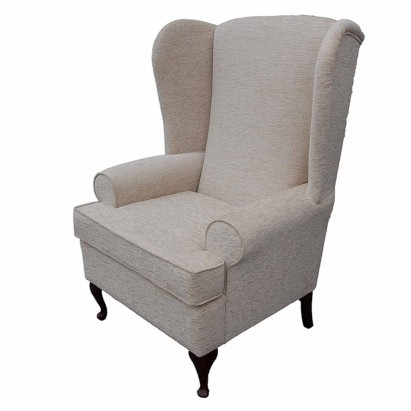 Large High Wingback Fireside Chair in a Carnaby...