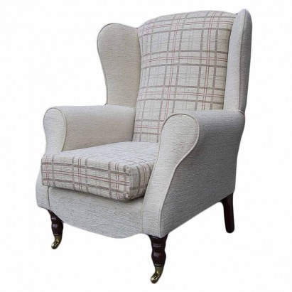 Duchess Wingback Armchair in a Maida Vale Light...