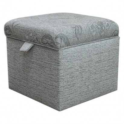 Storage Box Footstool in a Maida Vale Floral and...