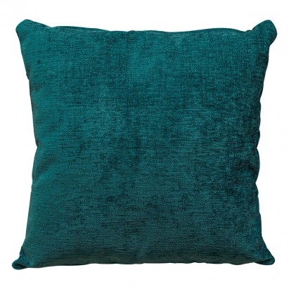 Scatter Cushion in a  Presto Teal Chenille Fabric