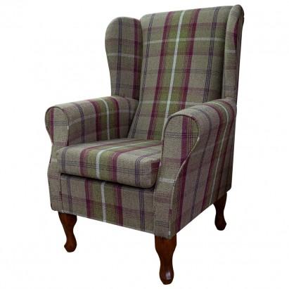 Standard Wingback Fireside Westoe Chair in a...