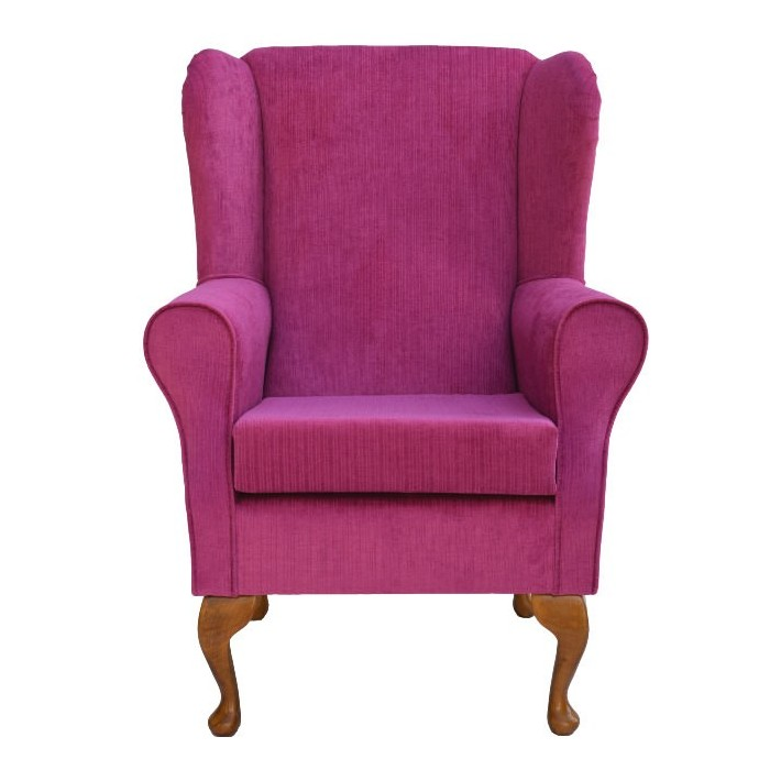 Westoe Chair in a Topaz Pink Fabric - Topaz Pink