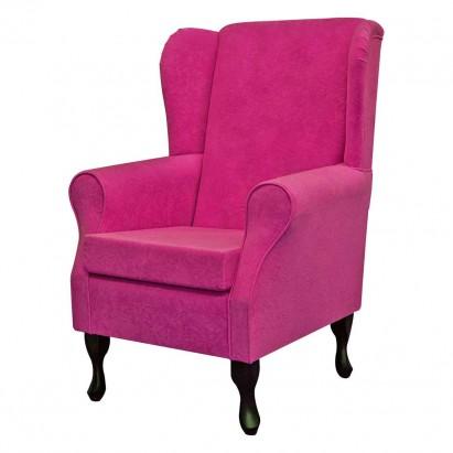 Standard Wingback Fireside Westoe Chair in a Plush...