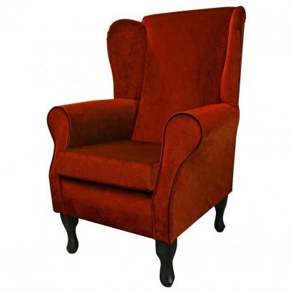Standard Wingback Fireside Westoe Chair in a Malta...