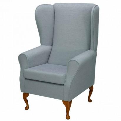 Standard Wingback Fireside Westoe Chair in a Velluto...