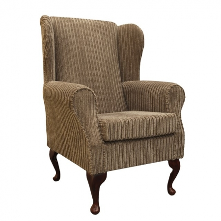 Westoe Chair in a Bark Jumbo Cord Fabric - 16105