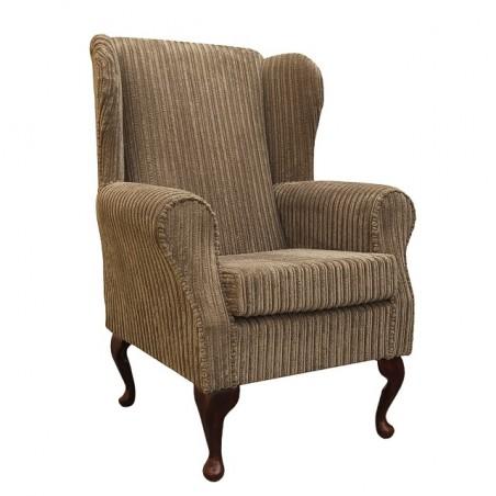 Westoe Chair in a Bark Jumbo Cord Fabric - 16105