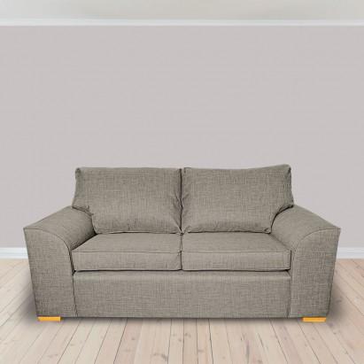 Dallas Three Seater Sofa in a Lena Plain Marl Beige...