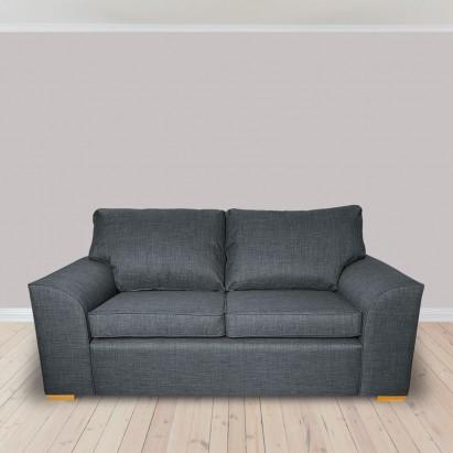 Dallas Three Seater Sofa in a Lena Plain Marl Grey...