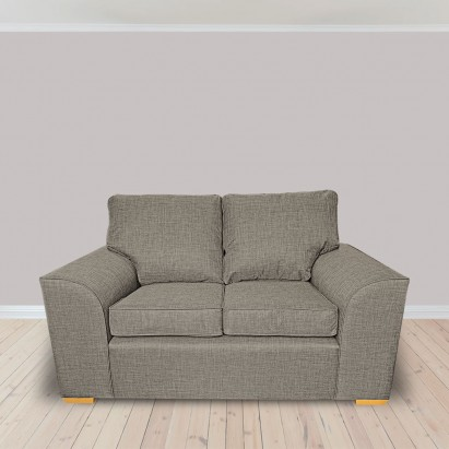Dallas Two Seater Sofa in a Lena Plain Marl Beige...