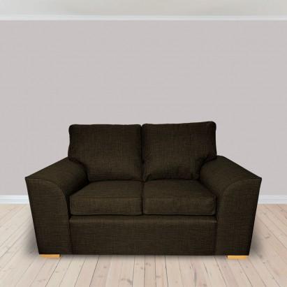 Dallas Two Seater Sofa in a Lena Plain Marl Brown...