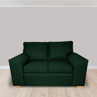 Dallas Two Seater Sofa in a Lena Plain Marl Jasper...