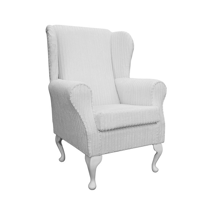 Westoe Chair in a Jumbo Chalk Fabric - 16115