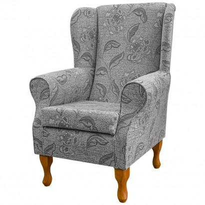 Standard Wingback Fireside Westoe Chair in a Maida...