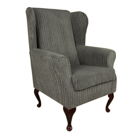 Westoe Chair in a Jumbo Slate Fabric - 16107