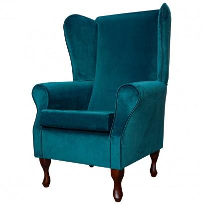 Large Highback Westoe Chair in a Malta Peacock...