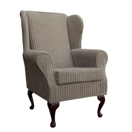 Westoe Chair in a Mink Jumbo Cord Fabric - 16101