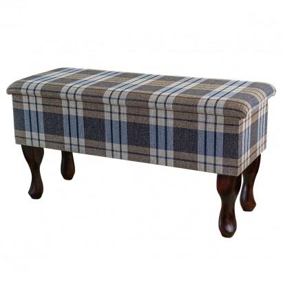 Medium Dressing Table Storage Stool in a Kintyre...
